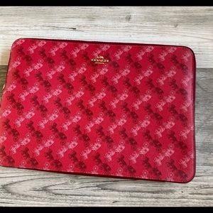 "COACH Bag 14"" Laptop Sleeve Case"
